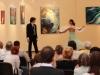 Rostás Paula és Simon István balett táncosok - Párbeszéd Háza Díszterem- kiállítás 2014.