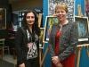 Brit nagykövet asszonnyal a kiállításomon