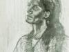 Portré tanulmányrajz diákkoromból